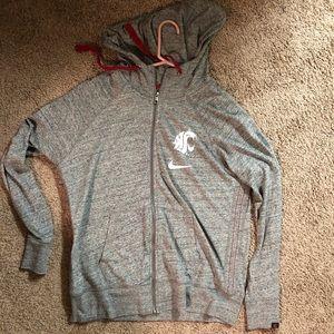 NWOT Nike WSU zip up